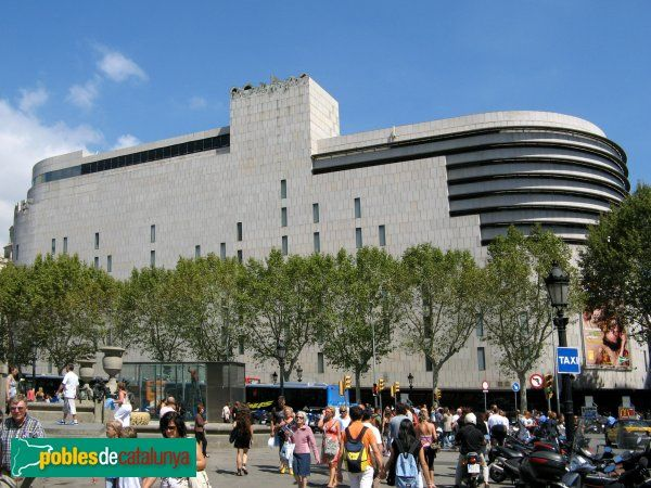 Barcelona - El Corte Inglés (Foto: Albert Esteves, 2007)