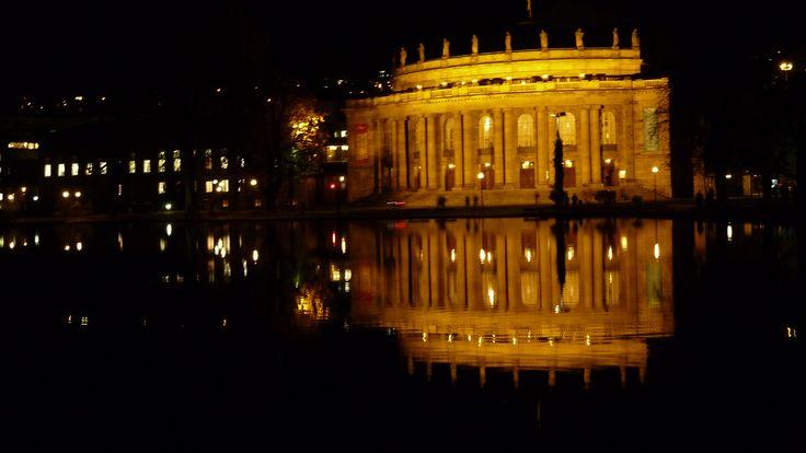 Oper Stuttgart mit Theatersee