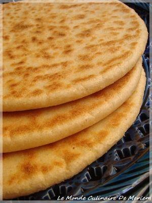 Kesra (galette Algerienne) - Le Monde Culinaire De Meriem