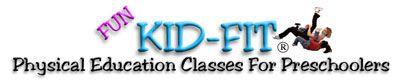 Free monthly preschool p.e. activity