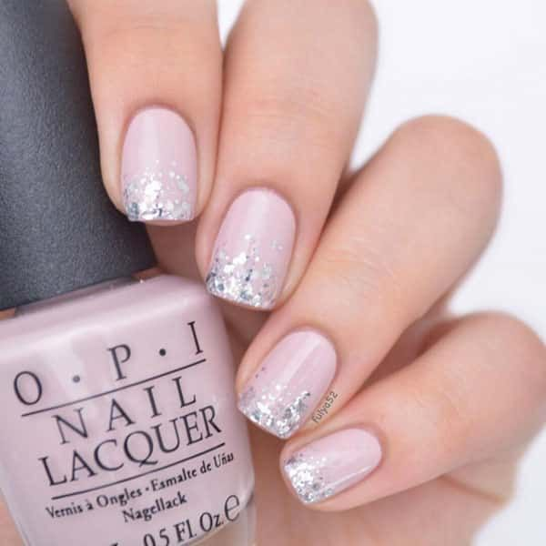 Pink Glitter Gradient Nails by @beautyaddictedd; see the full nail art gallery at http://www.nailitmag.com/nail-art-of-the-day/pink-glitter-gradient-nails