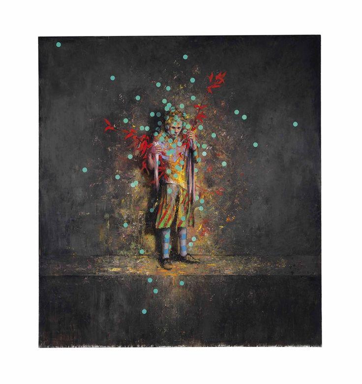 JONAS BURGERT http://www.widewalls.ch/artist/jonas-burgert/ #JonasBurgert #contemporaryart #paintings
