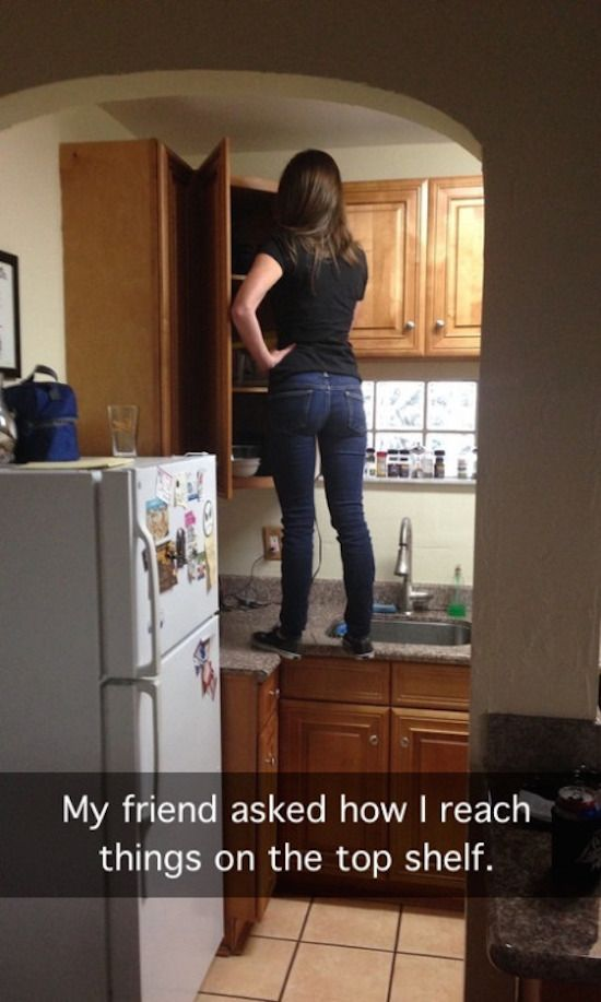 This is TOTALLY me as well...I probably need to invest in a stepstool lol<<< or a step ladder