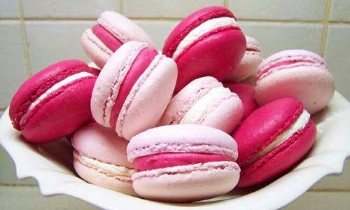 Receita de Macarons , Delicioso e fácil de fazer! Aprenda a Receita! Saiba Mais: