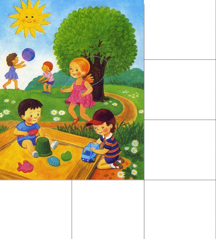 Картинки времена года для детей | Детское развитие steshka.ru ( lato)