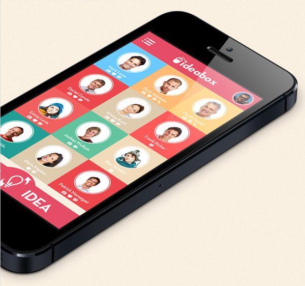 20 Flat Mobile UI Designs For Your Inspiration - Hongkiat