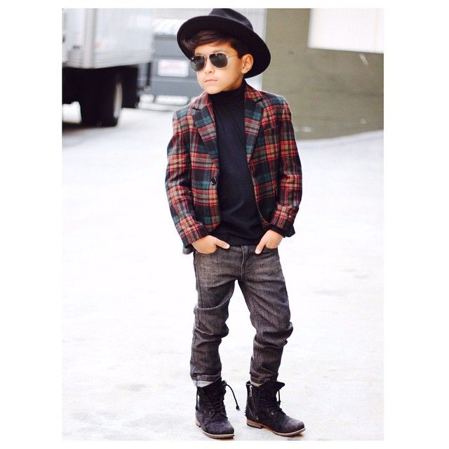 Kiddo Style Alert ... @rowenchristian, denim centric brand for boys, has the cutest Instagram feed full of Dapper Little Gents.