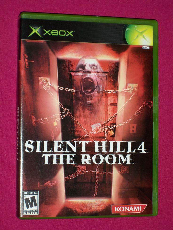 Silent Hill 4 The Room - Xbox Original Horror Game - COMPLETE - 2004 Konami | eBay