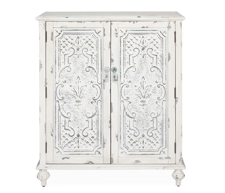 Rebecca Accent Cabinet   Features Embossed Tin Doors Inspired By Antique  Victorian Ceiling Tiles. The