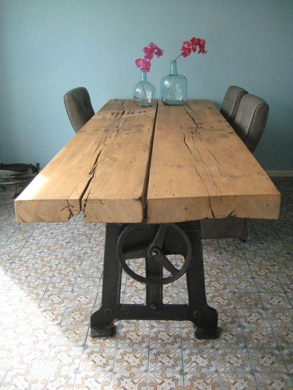 16 best industrià le tafels coel house images on pinterest dining