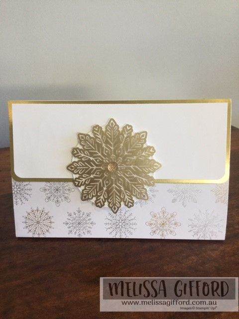 Melissa Gifford | Paper Clutch Bag with some new Holiday sneak peeks! | Stampin' Up!