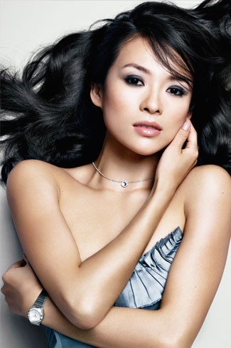 Zhang Ziyi, feisty little minx