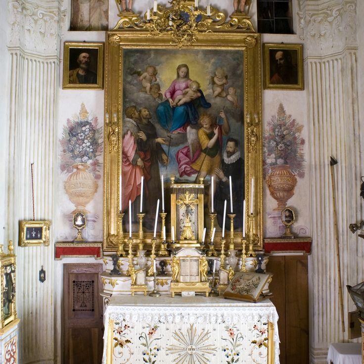 Cappella di San Carlo Borromeo - Castello di Masino a Caravino (To) | Scopri di più nella sezione Itinerari del portale #cittaecattedrali