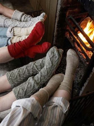 Time to cozy up next to the fire.
