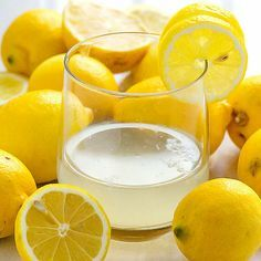 How to Make Lemon Water 1/2 lemon 1/4 cup cold water 1/3 cup boiling water