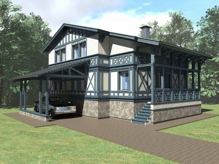 Дома в немецком стиле с фото позволят выбрать лучший вариант для декора собственного жилья