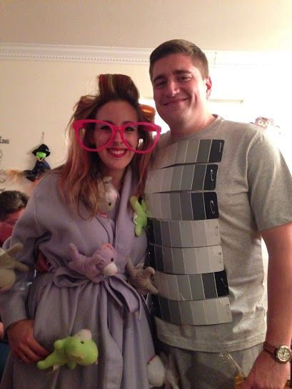 DIY Adult Halloween Costume: Crazy Cat Lady and 50 Shades of Grey (Under $10 TOTAL)