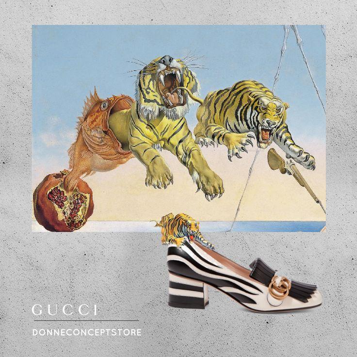 #Gucci #GGshoes #chunky #mocassino #blackandwhite #zebra #Dalì #sogno