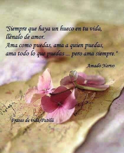 Del poeta Amado Nervo