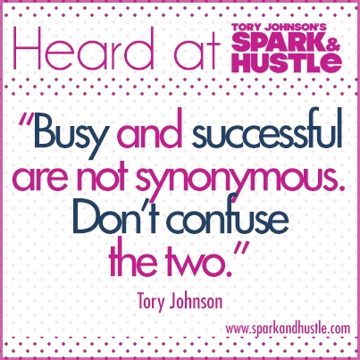 HEARD AT...daily tidbits from Spark & Hustle, including memorable favorites coming from Liz Lange, Barbara Corcoran, Jessica Herrin and lots more. http://sparkandhustle.com