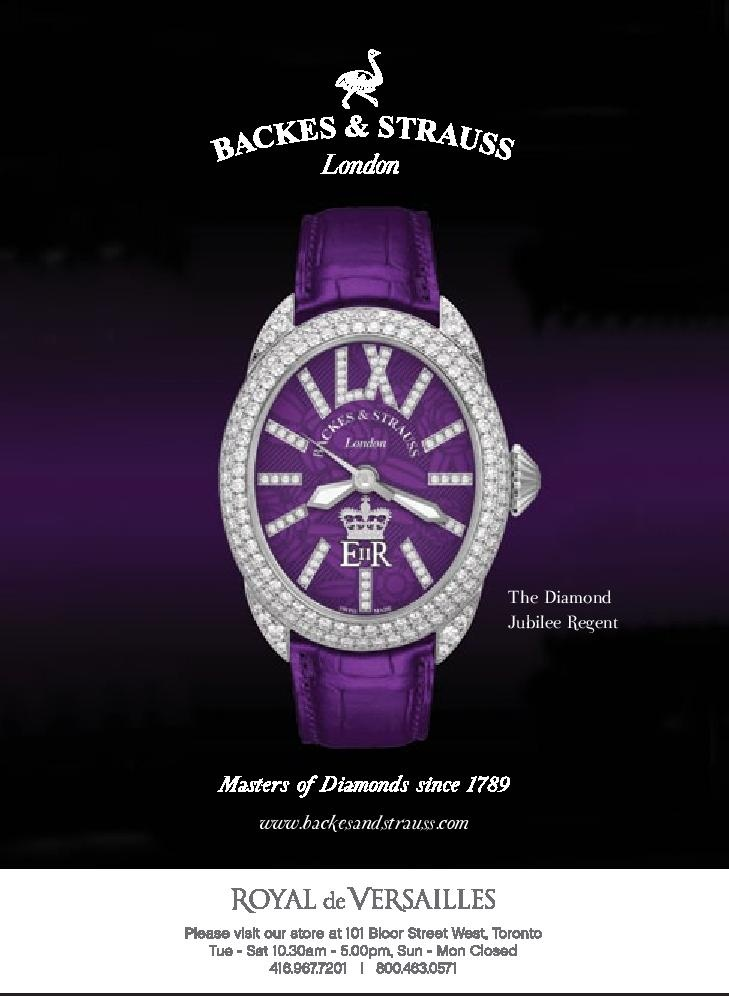 The Regent Diamond Jubilee collection - For more information, visit www.backesandstrauss.com