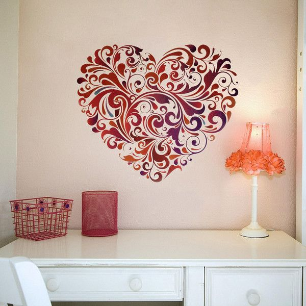 Stickers For Wall Decor best 25+ diy wall stickers ideas on pinterest | dollar tree decor