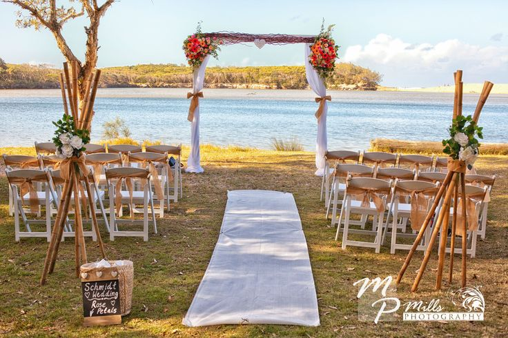 Currimundi Lake has all you need for a stunning wedding ceremony.