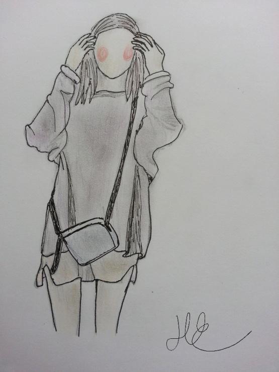 #art #drawing #girl #fashion #fashiondrawing #sketch