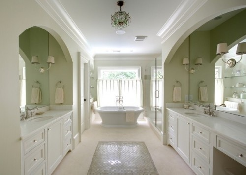 now that is a his and hers bathroom: Bathroom Design, Ideas, Dream House, Bathroom Idea, Traditional Bathroom, Dream Bathroom, Master Bathroom