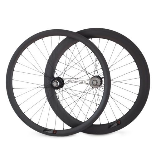 296.00$  Buy here  - Clincher Carbon Fixed Gear Wheels hot selling 25mm U 38mm+60mm front rear 700C track Wheelset single speed 20/24,32/32,24/28 H