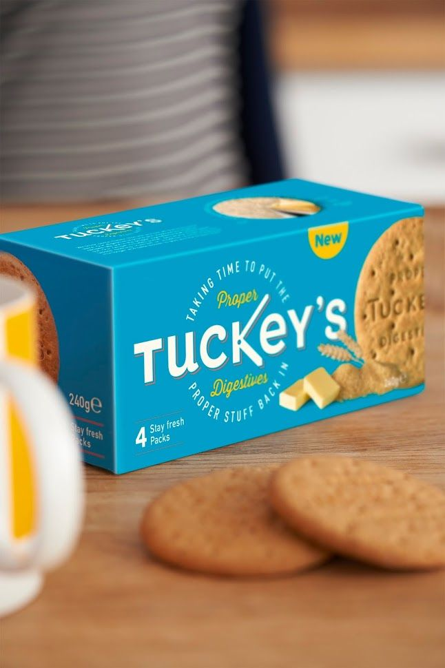 Tuckey's Proper Digestive on Packaging of the World - Creative Package Design Gallery