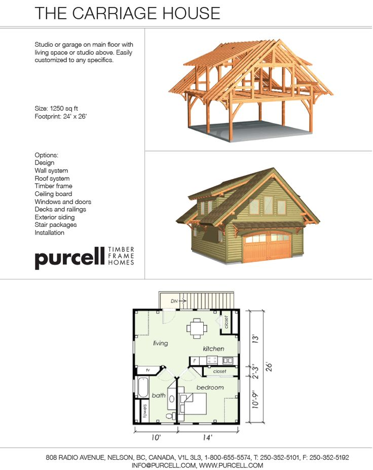 78 best images about garage w upper living space on pinterest for Carriage plans