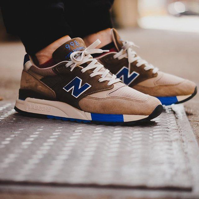 new balance 373 blue brown