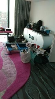 #Styling room at the #NHOW Hotel for the #tech and #fashion shoot.