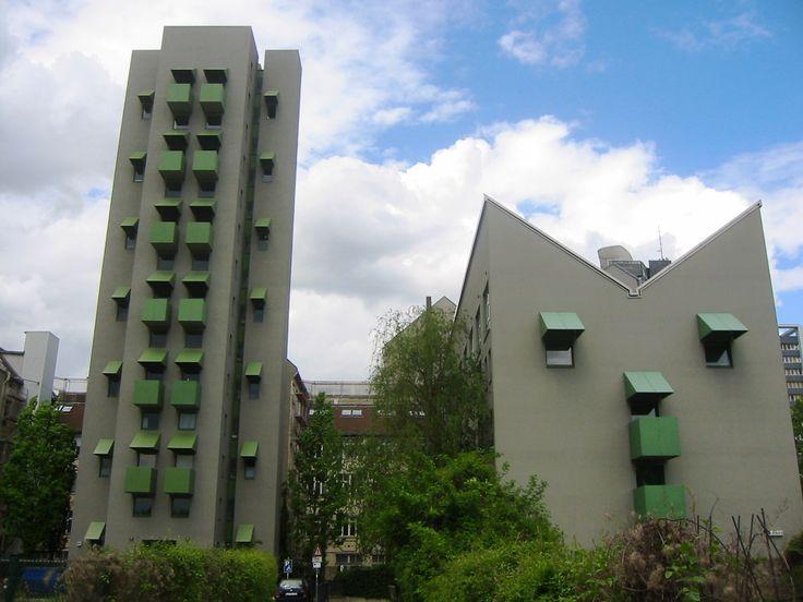 BerlinKreuzberg Besselstraße Kreuzberg Tower John Hejduk