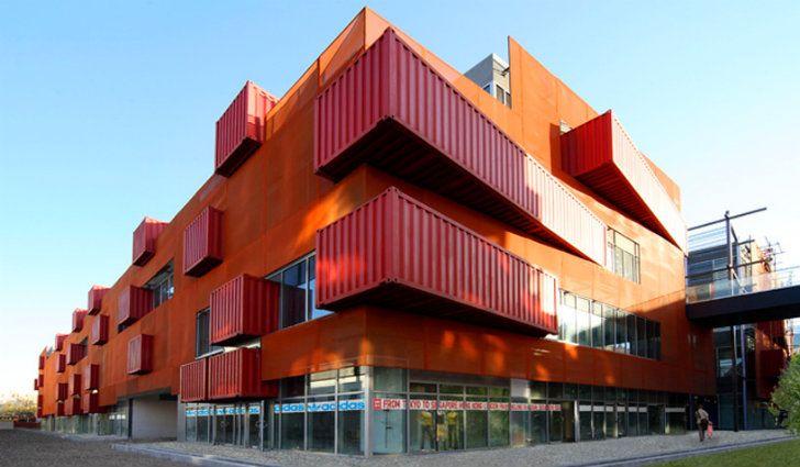 Inhabitat - - 지속 가능한 디자인 혁신, 친환경 건축, 그린 빌딩 LOT-EK의 산리 툰 남 베이징 산리 툰 남 - LOT-EK의 도시 배송 컨테이너 마을