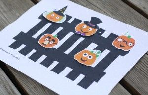 5 Little Pumpkins Printable Activity Packet. Fun-filled follow ups to the popular Halloween rhyme.