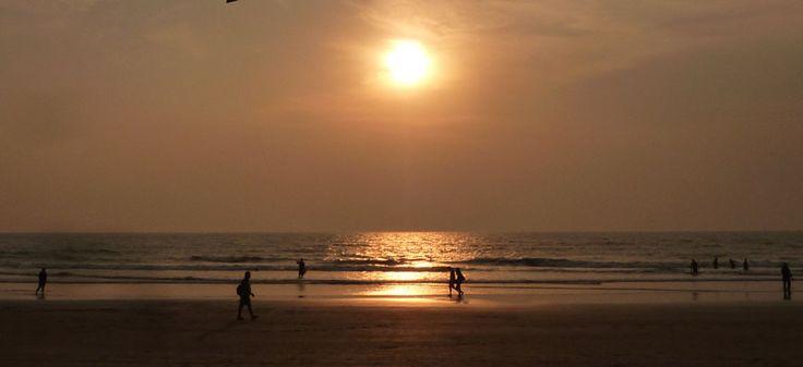 Praia de Goa. Índia.