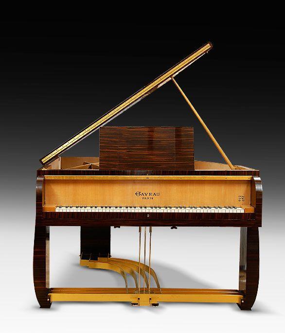René Prou et Albert Guénot Grand Piano Gaveau. 1930