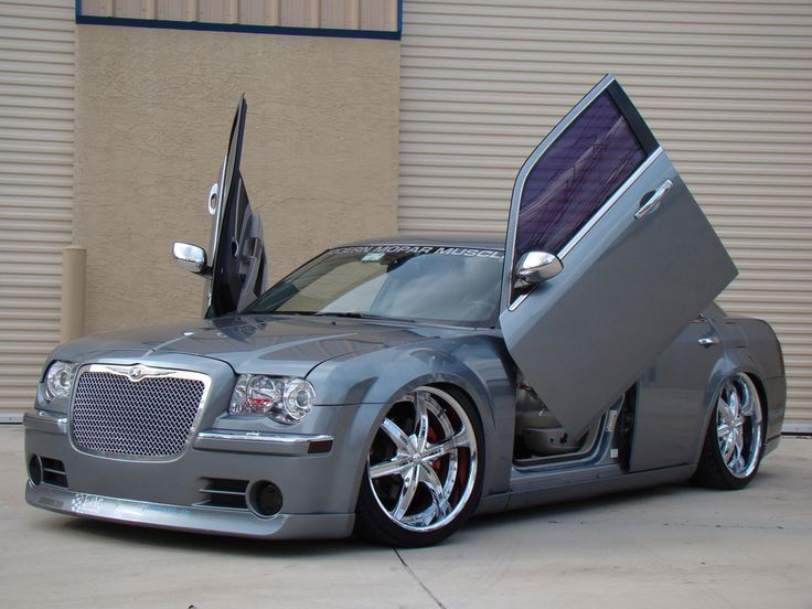 chrysler 300c bentley style lambo doors angel wings 2013