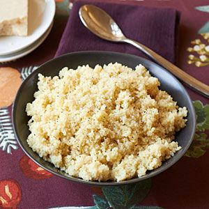 Couscous is a quick alternative to rice, and this recipe couldn't be easier. Parmesan cheese and lemon juice add just the right flavor to this versatile side dish.