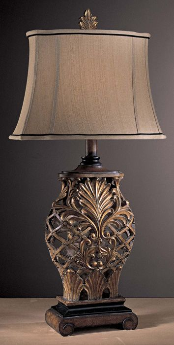 Minka lavery lighting 10693 192 romance 1 light table lamp at del mar fans