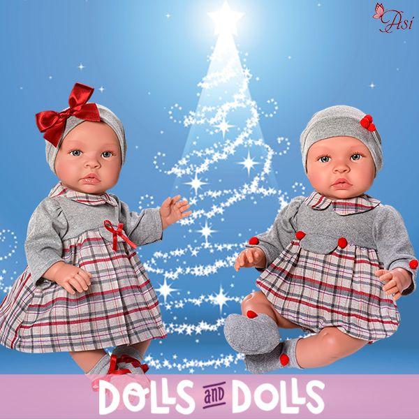 Los mellizos Leo ya están preparados para celebrar una fiesta con unos bonitos conjuntos escoceses que les quedan genial. ¿Quieres celebrar algo con ellos? Te lo pasarás genial, son pura felicidad. También tenemos ropita y complementos por si quieres otro vestido para que no vaya siempre con la misma indumentaria.  #MuñecasAsí #DollsMadeinSpain #Dolls #Muñecas #Muñeca