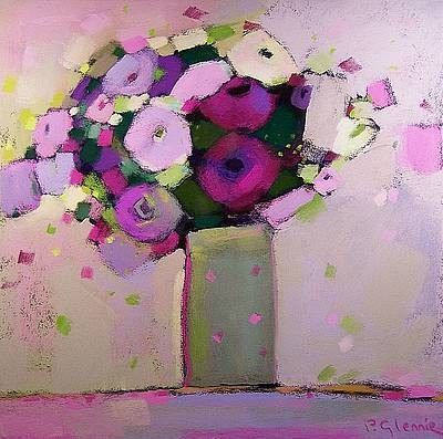 ᙖҽąմ৳ἶƒմℓ Ꭿɽ৳ ~ Scottish artist, Pam GLENNIE - Vintage Blooms