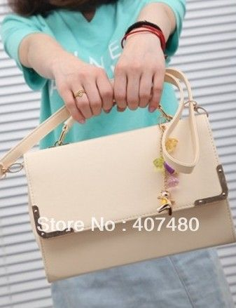 sweet fresh nice multi color PU leather shoulder bag sling Handbag Designer Lady girl's women Fashion  wholesale retail $31.50