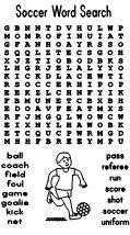 Making Learning Fun   Soccer Word Search