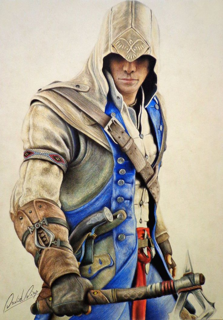 Connor Kenway - Assassin's Creed III by Daviddiaspr