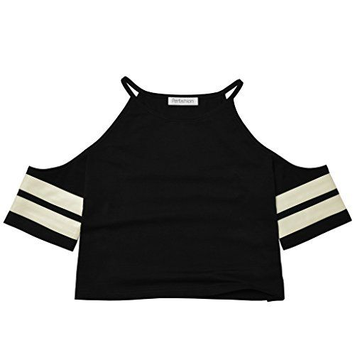 Special Offer: $14.99 amazon.com Product Description Attention:Please check the measurement chart carefully before you buy the item .100% Brand New Material: 95% Cotton 5% SpandexColor: BlackCollar: Sexy O-neckSleeve:Short Sleeve Style: Casual Garment Care: Hand-wash and Machine washable ,...