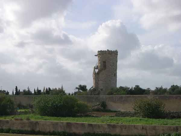 50 We are now heading for the village of Santa Lucija. This Tower is in the whereabouts of Ghaxaq outskirts of Gudja