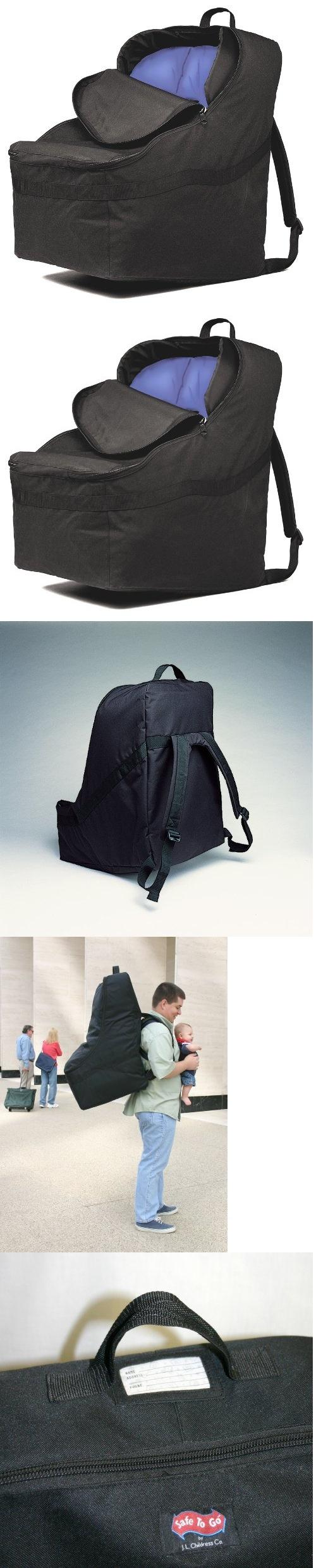 JL Childress Ultimate Car Seat Travel Bag Black
